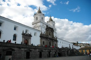 quito kirche san francisco