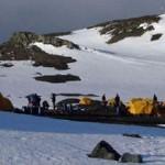 Camping Antarktis