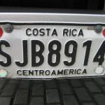 Costa Rica Kennzeichen