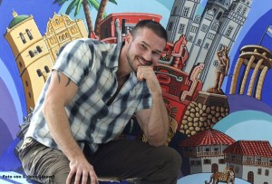 Gemäldeausstellung>Eine Reise nach Bad Vilbel und um die ganze Welt<mit Werken des Künstlers MARC REMUS vom 19.8.2012 bis zum 31.08.2012 im Autohaus Fischer-Schädler, Bad Vilbel, Zeppelinstrasse 13-15