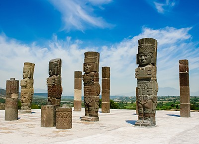 Toltec sculptures