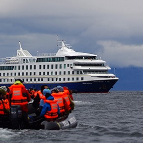 Expeditionsschiff Via Australis wird ersetzt