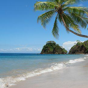 Baden an Costa Ricas Traumstränden