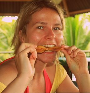Nicole lebt seit in Kolumbien.