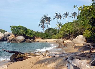 Tayrona Nationalpark Kolumbien