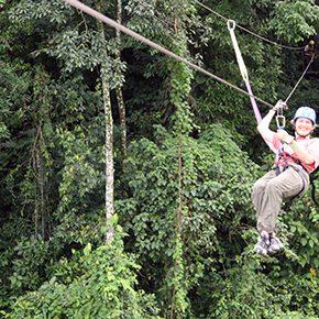 Aktivreisen in Costa Rica, dem Kletterpark-Paradies