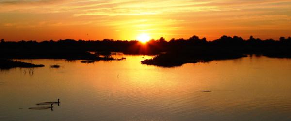 Sonnenaufgang im Pantanal