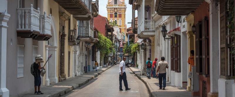 Die Altstadt in Cartagena