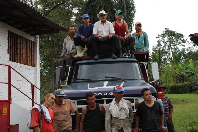 Bei den Kaffee-Bauern in Kolumbien