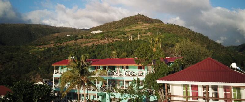 Das Tamarind Tree-Hotel auf Dominica