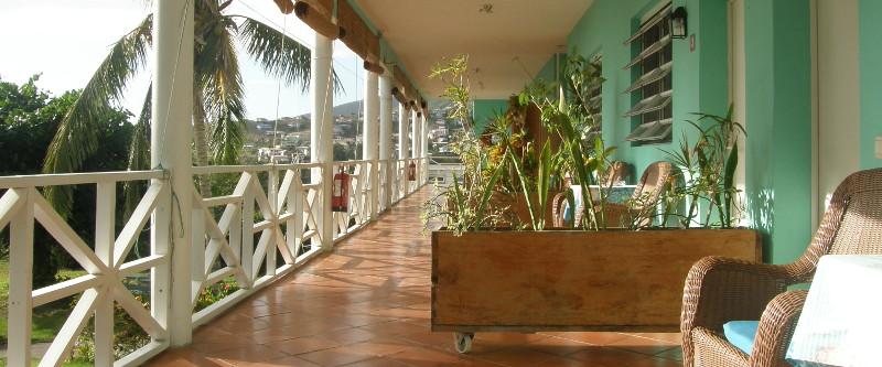 Tamarind Tree Hotel Dominica - Erster Stock
