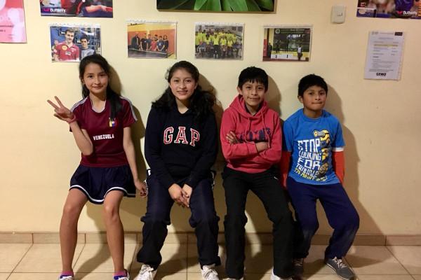 Tischtennis-Projekt in Peru