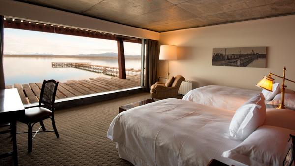 Zimmer im Hotel Singular Patagonia